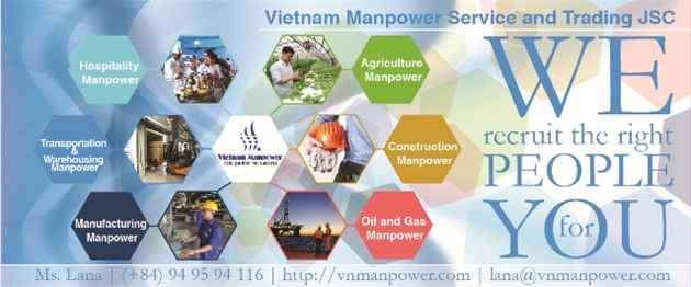 A credible partner for manpower recruitment from VMST